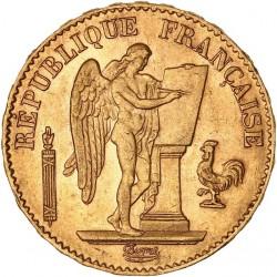 20 francs Génie 1879 A