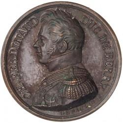 Médaille pour la mort du Duc de Berry - 1820