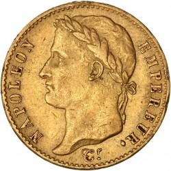 """20 francs Napoléon Ier 1815 A """"Cent-jours"""""""