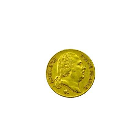 20 francs Louis XVIII - 1818 L