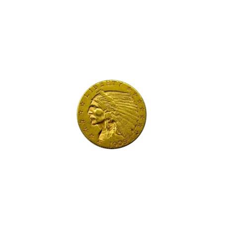 Etats Unis - 2 dollars et demi - 1909