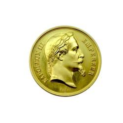 Médaille en or - Ministère de l'agriculture, du commerce et des travaux publics - 1868 ROUEN