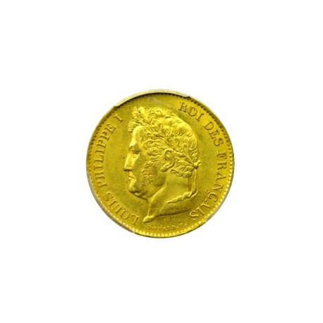 40 francs Louis Philippe Ier 1833 A