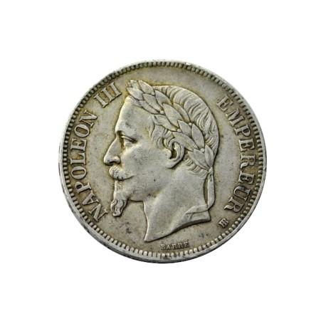 5 francs Napoléon III 1865 BB