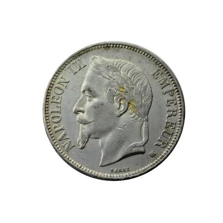 5 francs Napoléon III 1869 BB