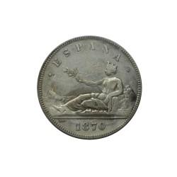 Espagne - 5 pesetas 1870 SN-M