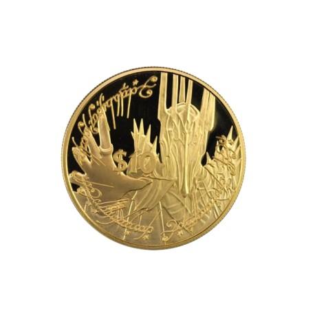 Nouvelle Zélande - 10 dollars 2003 - seigneur des anneaux - Sauron