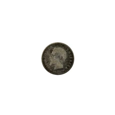 20 centimes Napoléon III 1863 BB