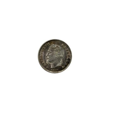 20 centimes Napoléon III 1868 A