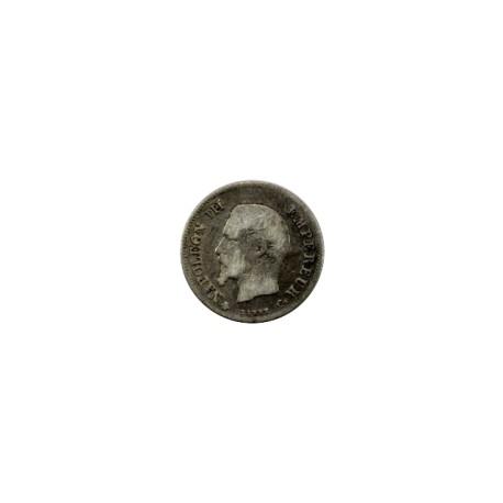 20 centimes Napoléon III 1860 BB