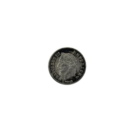 20 centimes Napoléon III 1864 K