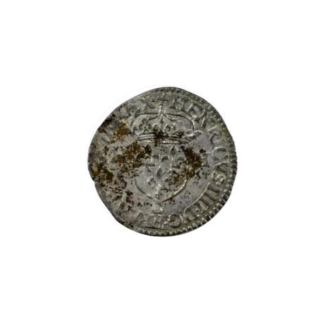 Henri III - Huitième d'écu - 1586 - Nantes