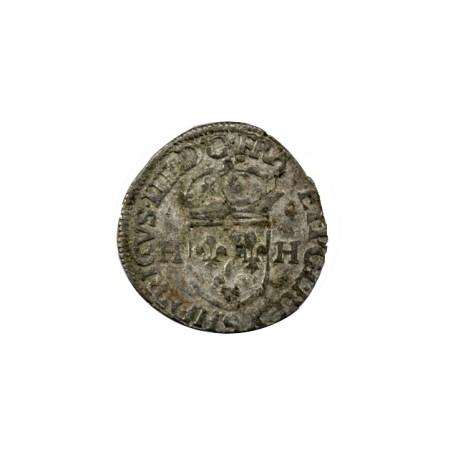 Henri III - Douzain aux deux H - 1586 Troyes