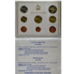 Vatican - Coffret euros Brillant Universel - 2005 Sede Vacante