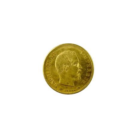 10 francs Napoléon III 1857 A Paris