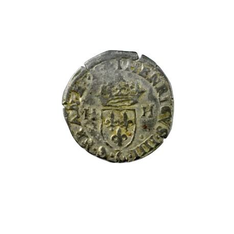 Henri IV - Douzain aux H - 1592 I Limoges