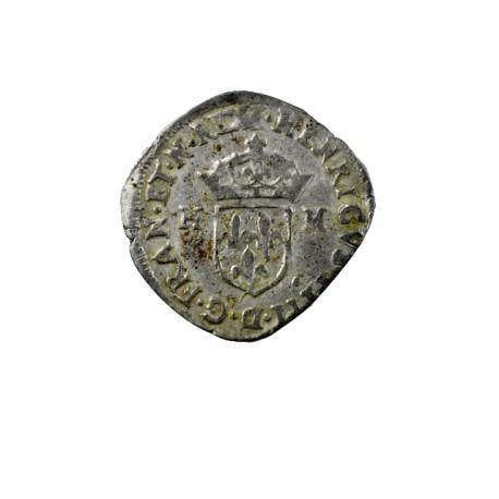 Henri IV - Douzain aux H - 1593 I Limoges