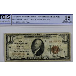 Billet de 10 dollars - 1929 New York
