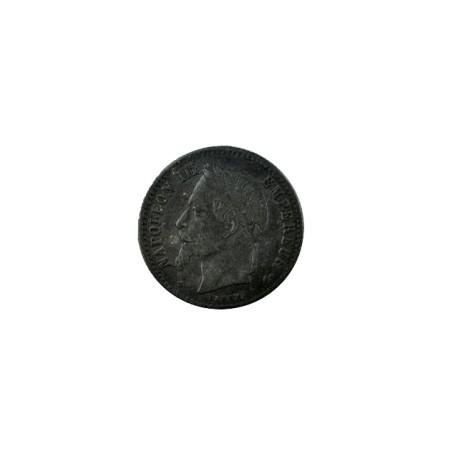 50 centimes Napoléon III 1868 BB - Faux d'époque.
