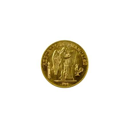 20 francs Génie 1896 Faisceau