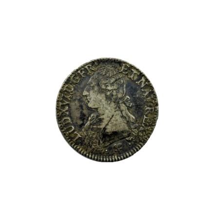 Louis XVI - Ecu aux lauriers 1791 Bayonne