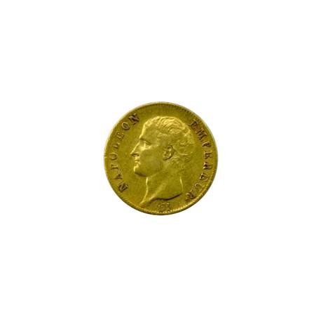 20 francs Napoléon Ier  1806 Paris